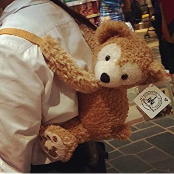 ダッフィー リュックバッグ レディース バッグ♪ 子供 お顔厳選♪ ディズニー【香港ディズニー輸入】