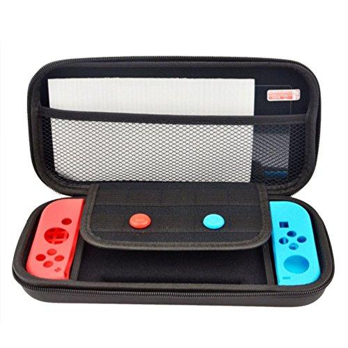 Nintendo Switch ケース 任天堂Switch 専用保護カバー ニンテンドー スイッチ ケース 小物収納 EVA 軽量 耐衝撃 防水保護ケース 収納バッグ 外出 旅行用 スイッチハンドバッグ Joy-Con 専用カバー カバー シリコン ケース