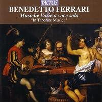 Musiche Varie a Voce Sola by BENEDETTO FERRARI (2006-09-12)