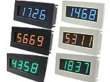 (M's dice)エムズダイス LED 4桁表示 デジタル タコメーター 回転計 測定 モジュール 自作 キット 選べる3色2タイプ