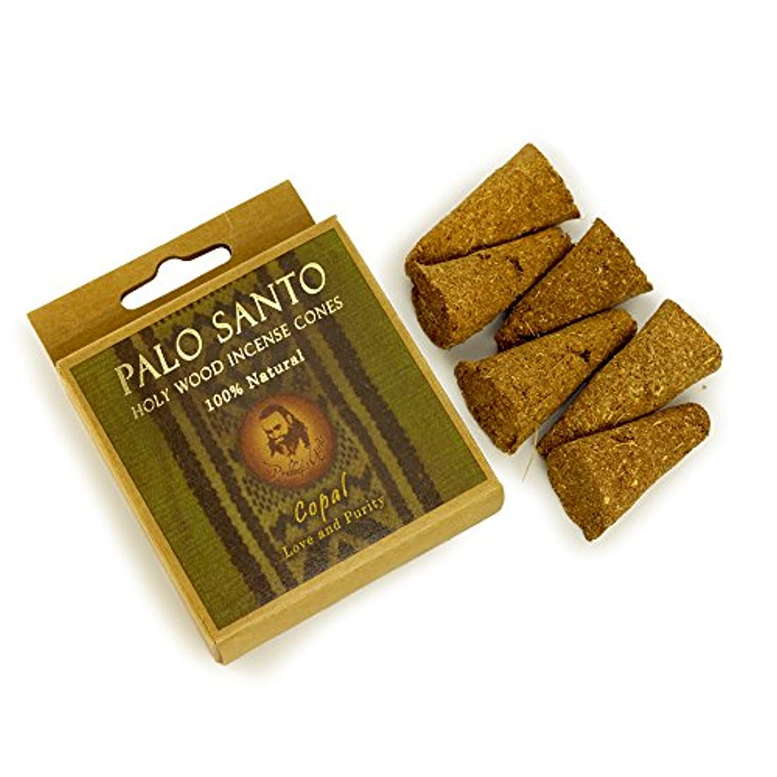 フットボール普遍的なこどもセンターPalo Santo and Copal – Love & Purity – 6 Incense Cones