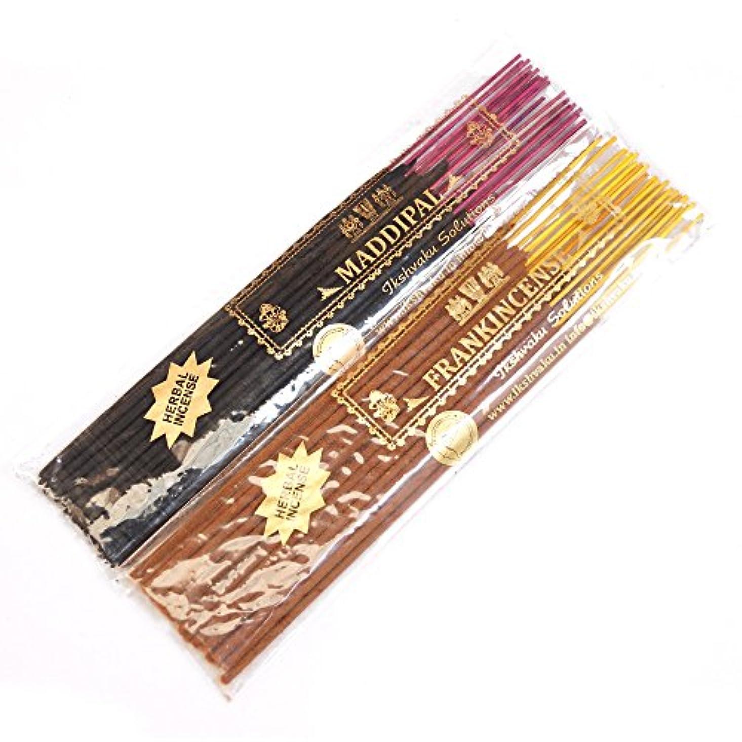 カフェ開発クリープFrankincense & Maddipal Variety Gift Pack Agarbatti | Incense Sticks Combo by Ikshvaku