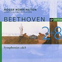 Beethoven;Symphonies 2 & 8