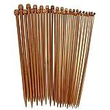 イッピー 36本の竹編みニードルセータースカーフ刺繍アクセサリー