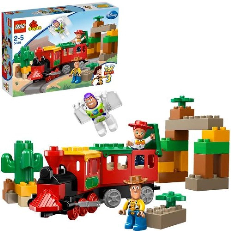 レゴ (LEGO) デュプロ トイ?ストーリー どきどき列車追跡 5659