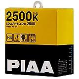 PIAA ( ピア ) ハロゲンバルブ 【ソーラーイエロー 2500K】 H4 12V60/55W 2個入り HY101