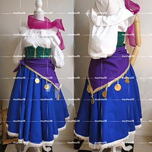ノートルダムの鐘 エスメラルダ 衣装 コスチューム