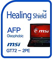 Healingshield スキンシール液晶保護フィルム Oleophobic AFP Clear Film for Msi Laptop GT72-2PE