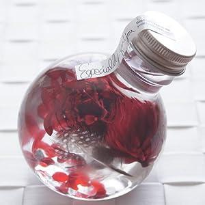 ハーバリウム 丸ボトル (ボルドー)の関連商品5