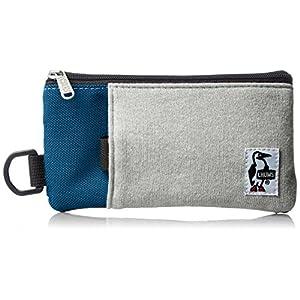 [チャムス] スマホケース Smart Phone Case Sweat Nylon CH60-2052-A046-00 G019 H-Gray/Basic Navy