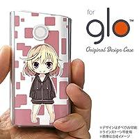 glo グローケース カバー グロー キャラ2-A ピンク nk-glo-1335
