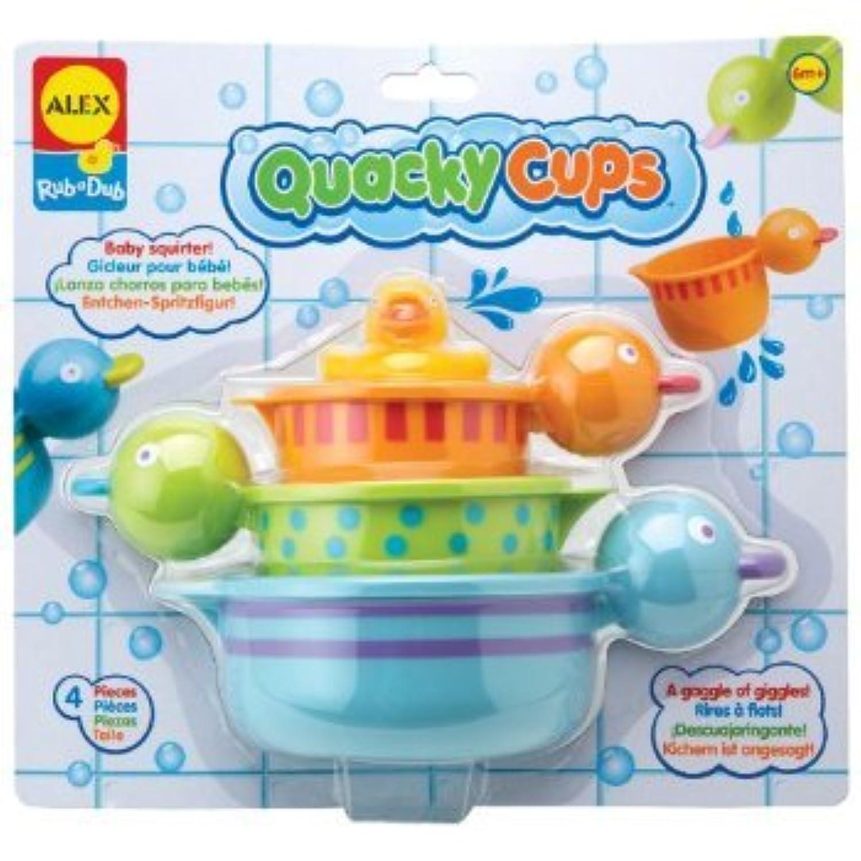 ALEX Toys - Bathtime Fun, Quacky Cups, 833Q おもちゃ [並行輸入品]
