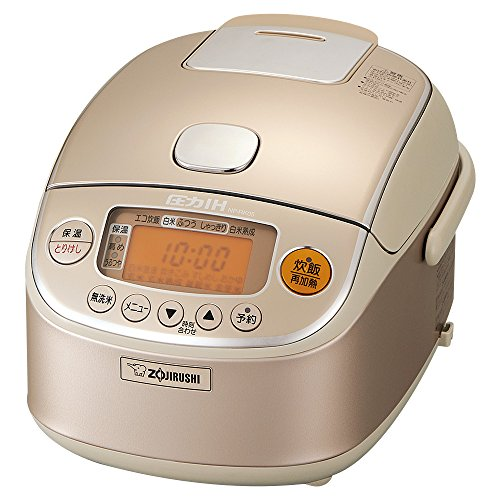 象印 炊飯器 圧力IH式 3合 シャンパンゴールド NP-RK...