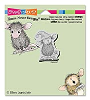 Stampendous Cling Rubber Stamp, Santa Mouse [並行輸入品]