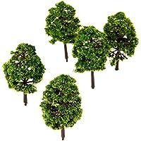 20個入り モデルツリー 樹木 木 鉢植え用 鉄道模型 風景 モデル トレス 情景コレクション ジオラマ 建築模型 電車模型 HO OOスケール1:100 9cm