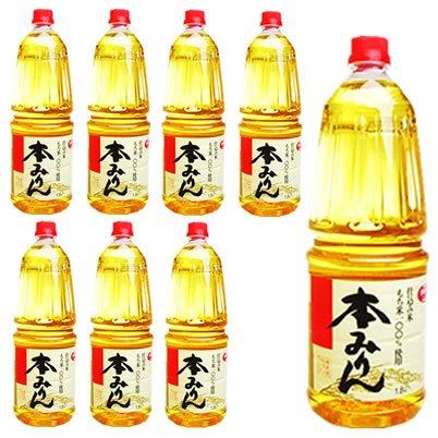 業務用 サンフーズ 本みりん 御勅使 もち米100%使用 ペットボトル1.8L×8本