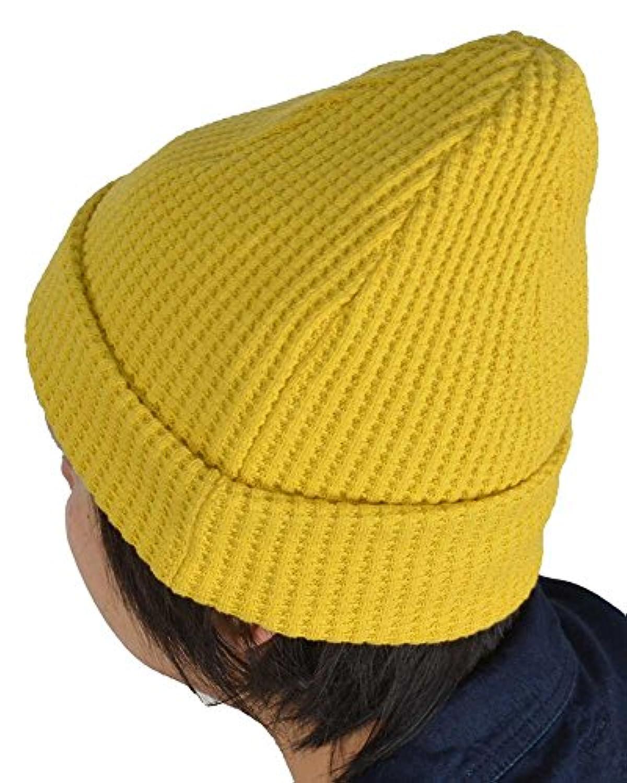 ( ジャックマン ) jackman 日本製 ワッフル サーマル ワッチ 帽子 ニット帽 「 ビッグ ワッフル コットン ニット キャップ」JM6605