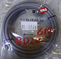 同軸ケーブルセット 8D2V ML-MP 6m
