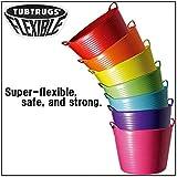 タブトラッグス(TUBTRUGS) フレキシブルバケツ Mサイズ グレー