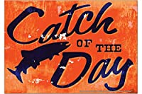 冷蔵庫用マグネット Fridge Magnet Sayings M.A. Allen Catch of the day