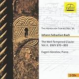 Bach: Well-Tempered Klavier Vol.2 (The Koroliov Series Vol.6)