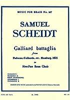 シャイト : ガリアルド・バッタグリア (金管五重奏) ルデュック出版