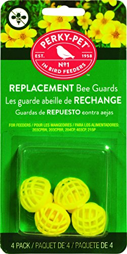 Perky-Pet 205Y Replacement Yellow Bee Guards [並行輸入品]