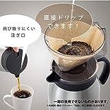 Atlas(アトラス) 飛び散りにくい注ぎ口の ステンレス コーヒー サーバー 0.6L シルバー ACS-602SV 【 Coffee 珈琲 卓上 ポット ドリップ 】 真空 断熱 2重構造 ダブル ステンレス 画像