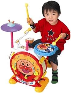 アンパンマン いっしょにステージ ピカピカ電子ドラム