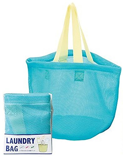 そのまま洗える ランドリー バック 洗濯後はそのままバッグみたいに持ち運べて便利 洗濯カゴ や 洗濯バッグ のように使ったり 洗濯ネット として使ったり使い道は色々