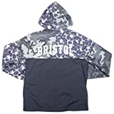 SOPHNET. ソフネット ×NIKE FCRB (F.C.R.B.) (F.C.Real Bristol) 17SS MIXED SEPARATE PRACTICE JACKET ジャケット 黒 L