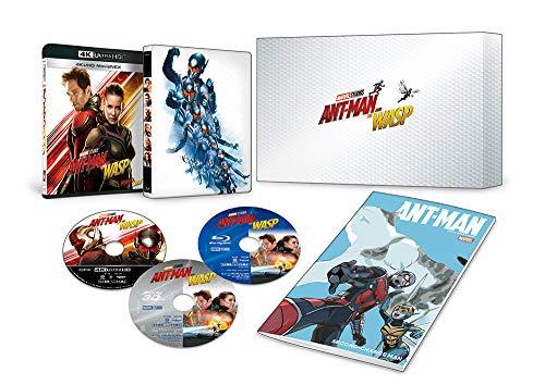 アントマン&ワスプ 4K UHD MovieNEXプレミアムBOX(数量限定) [4K ULTRA HD+3D+Blu-ray+デジタルコピー+MovieNEXワールド]