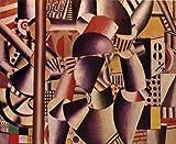 レジェ・「サーカスの曲芸師たち」 プリキャンバス複製画・ ギャラリーラップ仕上げ(6号サイズ)