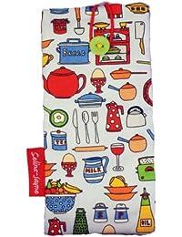台所用品selina-jayne Limited Edition Designer Soft Fabricメガネケース