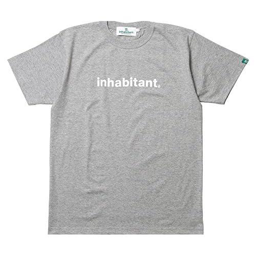 (インハビタント)INHABITANT BASIC S/S TEE IH432TS90 GR グレー M