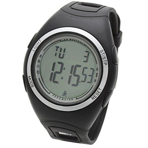 [LAD WEATHER]ラドウェザー腕時計 ウォーキング/ジョギング/ランニング 3D歩数計/消費カロリー/走行距離/計測 メンズ時計