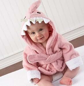 COM★MI-CHILD-RB-ピンク◆激カワ!!!癒される!!!可愛い子に可愛いバスローブ お子様にピッタリ 出産祝い 贈り物 にも