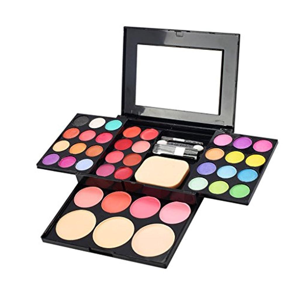 スペル違法スポンサーToygogo プロ39色化粧アイシャドウ口紅赤面コンシーラーパウダーパレットセットでミラーブラシ女の子ギフト