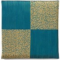 カワタキコーポレーション 座布団 ブルー サイズ:55×55cm