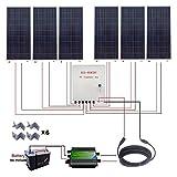 ECO-WORTHY 1000W 太陽電池パネルモジュール12Vバッテリー充電