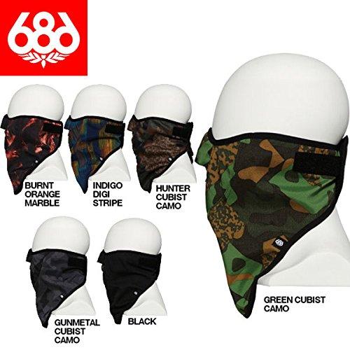 686 Strap Face Mask Army Twill Denim