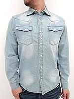 (マルカワジーンズパワージーンズバリュー) Marukawa JEANS POWER JEANS VALUE シャツ メンズ デニムシャツ メンズ 長袖 ウエスタン 4color