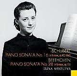 Schubert: Piano Sonata, No. 16 in A minor, Op. 42, D845 / Beethoven: Piano Sonata, No. 28 in A major, Op. 101