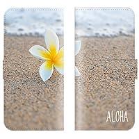 【 ankh 】 手帳型ケース 全機種対応 【 Xperia VL SOL21 エクスペリア ブイエル SOL21専用 】 プルメリア 花 花柄 hawaii ハワイ ハワイアン aloha アロハ ハイビスカス ブック型 二つ折り レザー 手帳カバー スマホケース スマートフォン