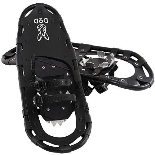 DOD(ディーオーディー) スノーシュー 軽量フレーム&簡単装着【初心者に最適】収納バッグ付き SW-15B