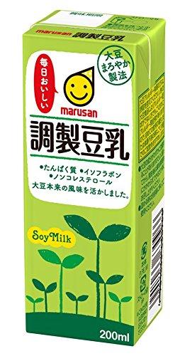 マルサン 調製豆乳 200ml×24本