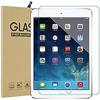 iPad New 2018/2017/iPad Pro 9.7/iPad Air2/iPad Air フィルム ブルーライト 90% カット 強化ガラス 高鮮明 耐衝撃 防爆裂 硬気泡ゼロ 指紋防止対応 飛散防止処理