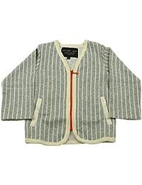 【子供服】 Studio mini (スタジオミニ) トライプカーディガン 80cm~140cm G56400