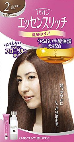 パオン エッセンスリッチ 乳液タイプ 2 より明るい栗色