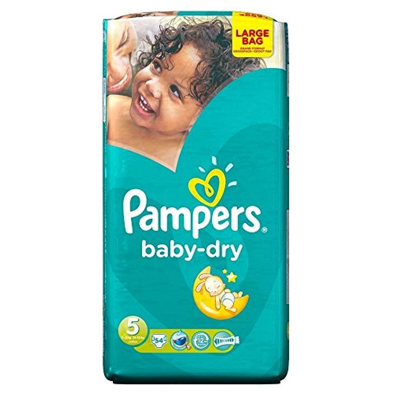 ミルク具体的に証言Pampers Baby Dry Size 5 Junior 11-25kg (54 per pack) パンパース赤ちゃんドライサイズ5ジュニア11~25キロ(パックあたり54 )